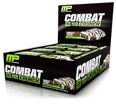 MusclePharm Combat Crunch Protein Bars Chocolate Coconut 12 Bars -- Click image for more details-affiliate link.