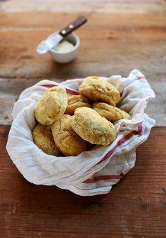 The Best Vegan Biscuit Recipe | minimalistbaker.com (sub gf flour)