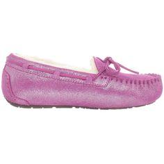 Pink Ugg Dakota Moccasins