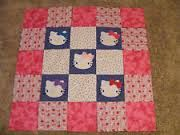 hello kitty applique quilt - Google Search