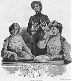 Stroje do teatru, 1902   Theatre outfits, 1902