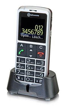 Amplicomms Powertel M8000 Sim Free Mobile Phone - Silver - http://www.computerlaptoprepairsyork.co.uk/mobile-phones/amplicomms-powertel-m8000-sim-free-mobile-phone-silver