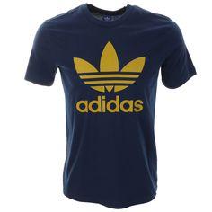 c7f1d4d2a Adidas Originals   Adidas Originals Trefoil T Shirt Blue   Adidas Originals  T Shirts Adidas Originals