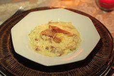 All Chefs  Risoto de brie e presunto de parma   #AllChefs #redesocial #gastronomia #culinaria #receitas #delicia #risoto