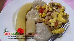 Jamaica's National Dish..Ackee and Saltfish/ Codfish