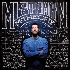 MISTAMAN M-THEORY _ Cd cover by Davide Scarpantonio, via Behance // Inspirational Art Website www.astronautonacow.com