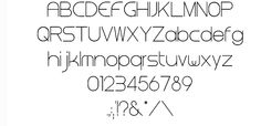 23 Awesome Free Thin Fonts