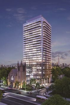Blue Diamond at Imperial Plaza is a 27 storey tower with 226 condominium units as well as townhomes and retail space at ground level.