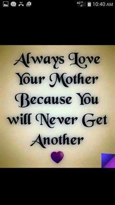 Missing Mom ...
