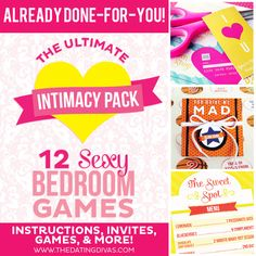 130-page Ultimate Intimacy Mega Pack- the perfect, sexy gift idea for the hubby