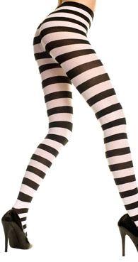 c41b2adec Collant rayé noir et blanc. Patterned TightsStriped TightsOpaque TightsBlack  TightsSheer TightsFishnetNylonsPantyhose LegsThigh High Socks