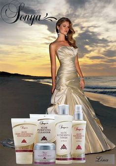 Spoil your skin with our luxurious Sonya collection