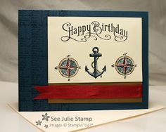 See Julie Stamp - Julie Wadlinger, Stampin' Up! Demonstrator : The Open Sea - CPC23