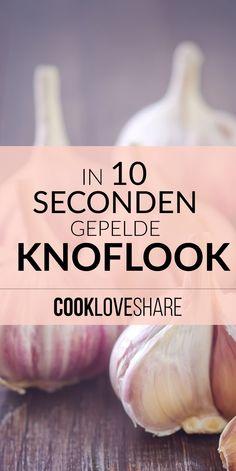 Zonder problemen knoflook pellen! #cookloveshare #food #keukentruc #koken…