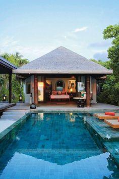 Anantara Kihavah Villas, Maldives Anantara Kihavah Villas (Baa, Maldives ) All villas come with a private pool; here's a spacious Beach Pool Villa