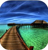 Best Beaches in the World -Collection of best beaches worldwide-beautiful photos, info, quiz #iPhone #iPad #Apps