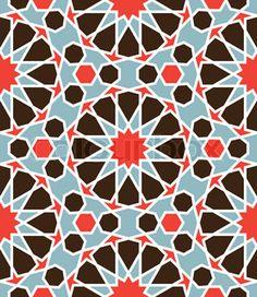 Arabesque seamless pattern in editable vector file | Vector | Colourbox on Colourbox