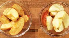 Dès qu'une pomme est coupéeen morceaux, elle noircit rapidement. C'est ce que l'on appelle l'oxydation. Alors comment fairepourgarder les morceauxsans qu'ils devienn...