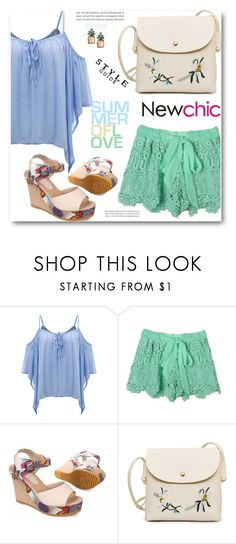 """""""Newchic 15"""" by edy321 ❤ liked on Polyvore featuring Banana Republic"""