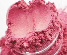 CRUSH COSMETICS Pink Martini Mineral Makeup Eyeliner Eye Shadow 10g Sifter Jar pink Eyeshadow duo chrome rose