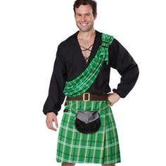 b0cadffc3 Costume Irlandaise, Irish Tartan, Tartan Kilt, Costumes For Sale, Adult  Costumes,