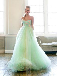 Strapless Sweetheart Embellishment Bodice Long Prom Dresses - LightIndreaming.com