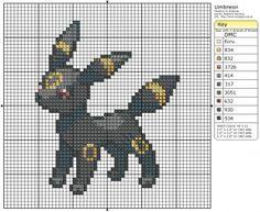 Pokemon - Espeon III by Makibird-Stitching on DeviantArt Pokemon Umbreon, Pikachu, Beaded Cross Stitch, Crochet Cross, Cross Stitch Embroidery, Pixel Art Photo, Cross Stitch Designs, Cross Stitch Patterns, Pokemon Cross Stitch