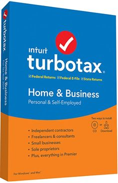 TurboTax Home & Business + State is recommended to maximize your deductions for personal and self employed tax situations especially if you received income from a side job Best for those who are self-employed or an independent contractor, freelancer, consultant or sole proprietor MAXIMUM TAX REFUND- Searches for more than 350+ tax deductions and credits, including mortgage interest, property taxes and energy-efficient improvements, to get you everything you deserve TAXES DONE RIGHT… Tax Refund, Tax Deductions, Phone Interviews, Internal Revenue Service, Tax Preparation, Business Software, Financial Information, Business Website, Business Branding