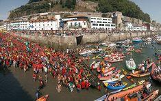 Regatas de #traineras de la Concha de San Sebastian/ Donostia. #Pais Vasco