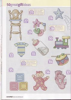 Small baby motifs 3 of 4