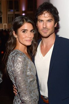 Pin for Later: Ian Somerhalder Steps Out With Nikki Reed After The Vampire Diaries Announces Its Final Season