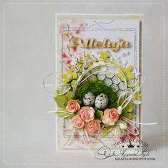 Ajgacia, Easter card