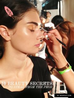 10 seriously good beauty secrets from the pros!