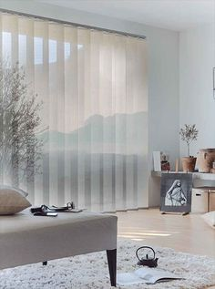 Living Room Drapes, Home Curtains, Living Room Decor, Modern Room, Modern Decor, Modern Blinds, Apartment Design, Window Coverings, Home And Living