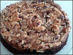 Gâteau chocolat noisette meringué version avec ou sans gluten