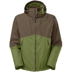 The North Face Condor Triclimate Jacket - Men'sScallion Green/Black Ink Green
