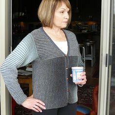 Kauni Diversey Cardigan Knitting Pattern