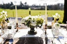 A neutral colour scheme promises understated elegance and a timeless wedding theme. A neutral colour scheme works at any type of wedding venue,. Spring Wedding Centerpieces, Vase Centerpieces, Neutral Color Scheme, Color Schemes, Taupe Bridesmaid Dresses, Taupe Wedding, Timeless Wedding, Wedding Venues, Wedding Inspiration