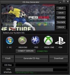 Download Hack Tool and Cheat Game : Pro Evolution Soccer 2016 (PES 2016) CD Key Genera...