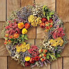 Farmers' Market Wreath
