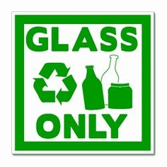 """rd030-01 - Recycling Decal 4"""" Square, Recycling Stickers, Butt-cut Recycling Labels, Vinyl Recycling Decals, Vinyl Recycling Labels, Vinyl Recycling Stickers"""