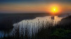 Sunrise in Zeeland -