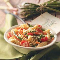 Creamy Pasta Primavera Recipe from Taste of Home -- shared by Darlene Brenden of Salem, Oregon  #Quick_Dinner