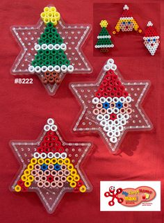 Inspiration for playing with Hama Beads Hama Beads Design, Diy Perler Beads, Perler Bead Designs, Pearler Bead Patterns, Perler Patterns, Christmas Perler Beads, Pearl Beads Pattern, Art Perle, Motifs Perler