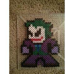Joker perler beads by kristalashely