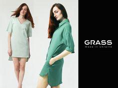 Летнее дополнение коллекции Laconic GRASS уже в продаже. Невесомые платья-рубашки, летящие кюлоты и освежающее платье-мини. С обновками от GRASS это лето обязательно станет самым модным! ☀