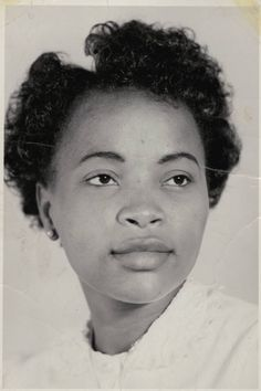 Charlotta Bass / California Eagle Photograph Collection, 1870-1960 :: Adora Lily Ulasi, circa 1945, Los Angeles :: Photograph of Adora Lily Ulasi. Ulasi, a Nigerian woman, came to Los Angeles around 1945 and lived with Charlotta Bass, publisher of the California Eagle. Ulasi was a reporter and columnist for the Eagle during her stay in Los Angeles.
