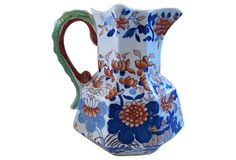 Antique Mason's Ironstone  Jug on OneKingsLane.com