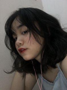 Korean Girl, Asian Girl, Makeup Korean Style, Cool Avatars, Collage Maker, Ulzzang Girl, Pretty Girls, My Hair, Korean Fashion