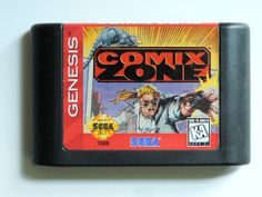 Comic Zone for Sega Genesis by OvertimeCollectors on Etsy